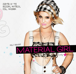 Kelly Osborne for Madonna's Material Girl clothing range 