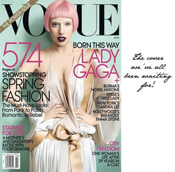 Lady Gaga Covers Vogue March 2011