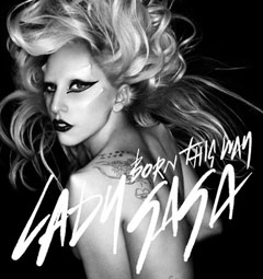 Lady Gaga official image for Born This Way