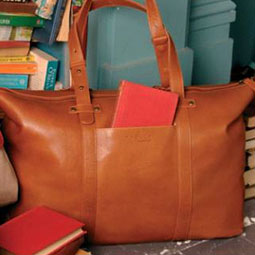 Radley's Ruskin leather holdall