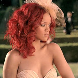Rihanna in her ad for Reb'l Fleur