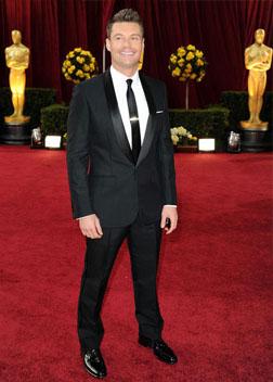 Ryan Seacreast at last year's Oscars