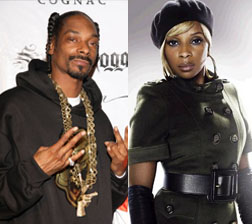 Snoop Dogg and Mary J Blige