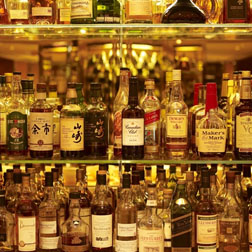 Some of the rare Whiskey's on offer