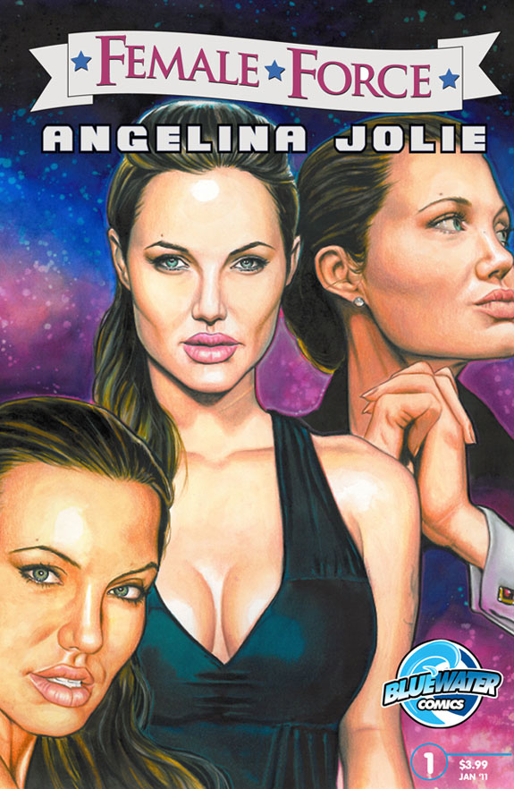Angelina Jolie's Comic Book cover