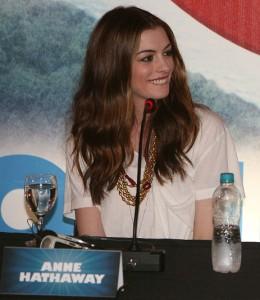 Anne Hathaway in Rio