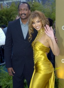 Beyonce and her father, Matthew