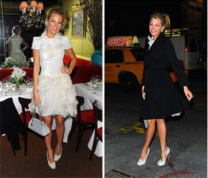 Blake Lively at the Chanel Dinner