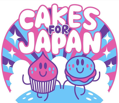 <b>Cakes for Japan...</b>
