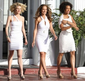 Charlie's new angels - Rachael Taylor, Minka Kelly and Annie Ilonzeh
