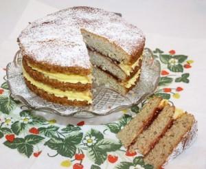 Gluten-free Victoria Sponge Cake
