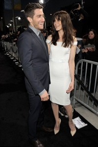 Jake Gyllenhaal and Michelle Monaghan at the Source Code premiere