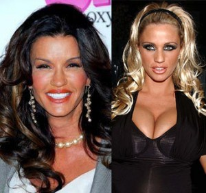 Janice Dickinson and Katie Price