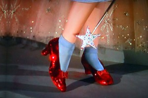 Judy Garland's Original Ruby Slippers