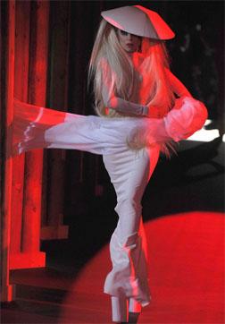 <b>Gaga's Runway Debut...</b>
