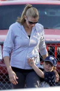 Victoria Prince with Britney and K-Fed's son, Sean Preston