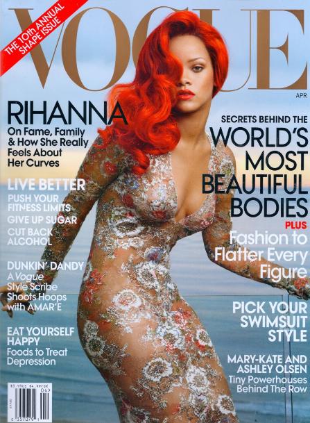 <b>Rihanna: Vogue Behin...</b>