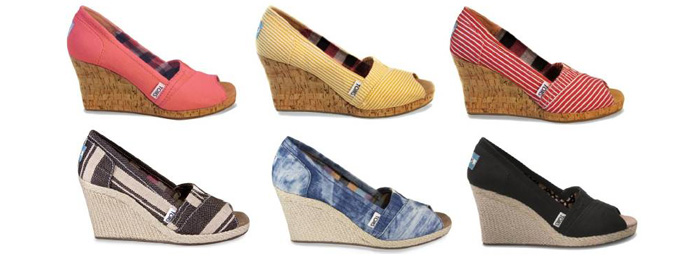 TOMS Wedges Collection
