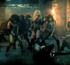 Britney in 'Til The World Ends'