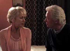 Helen Mirren and Billy Crystal in Harry Met Sally 2