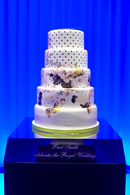 The Paul Smith Wedding Cake