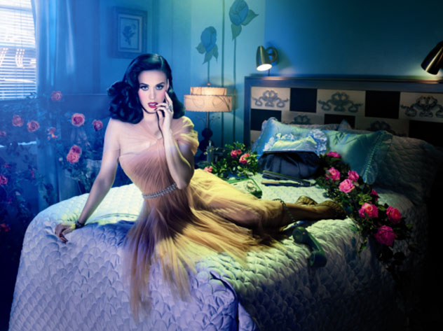 Katy Perry for GHD shot by David Lachapelle