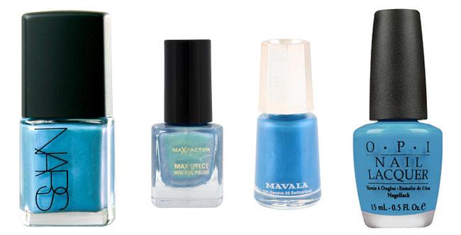 Best blue nails