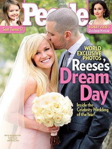 Reese Witherspoon and Jim Roth's First Wedding Photo