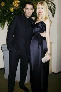 Roland Mouret and Claudia Schiffer