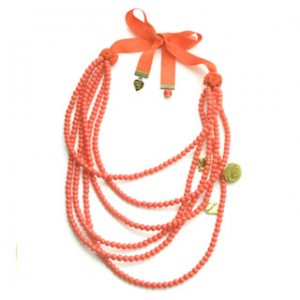 Rosie Fox Coral Layered Necklace