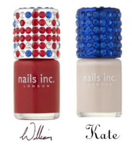 William and Kate from Nails Inc