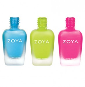 Zoya Modmattes Nail Polishes