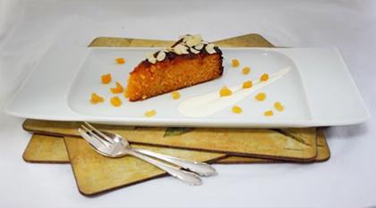 Apricot, Almond and Saffron Cake