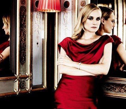 Diane Kruger for Jaeger-LeCouture