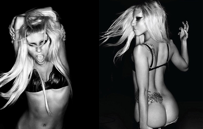 Gaga's new promo shots for her Born This Way Album