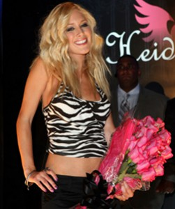 Heidi Montag at the Heidiwood For Anchor Blue Fashion Show