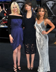January Jones, Rose Byrne and Zoe Kravitz