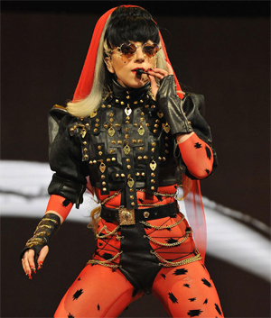 <b>Gaga Tops Celebrity ...</b>