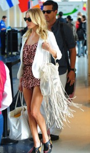 LeAnn at the airport
