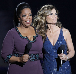 <b>Oprah's Last Show...</b>
