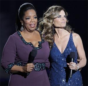 <b>Oprah's Last Show...</b>