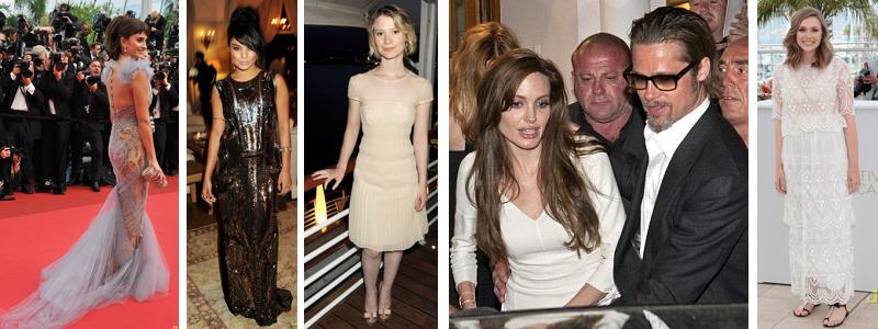 Penelope Cruz, Vanessa Hudgens, Mia Wasikowska, Angelina Jolie and Brad Pit and Elizabeth Olsen