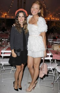 Rachel Bilson with Blake Lively in Cannes