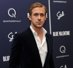 Ryan Gosling at the premiere for Blue Valentine