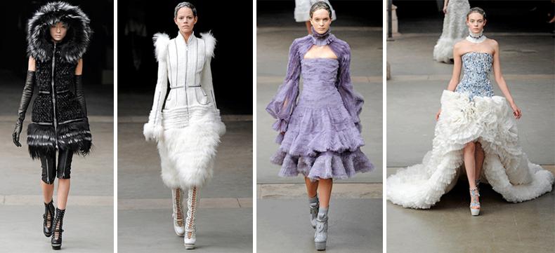 Sarah Burton's designs for Alexander McQueen AW11
