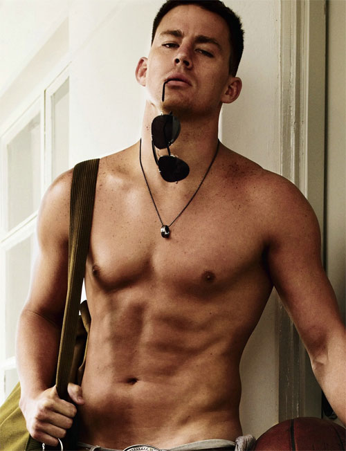 <b>Channing Tatum Strip...</b>