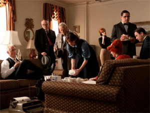 How about a Mad Men party?