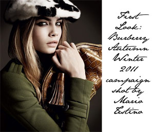 <b>First Look: Burberry...</b>