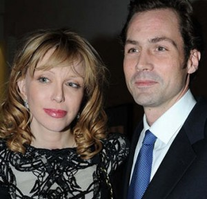 Courtney Love's been dumped by Henry Allsopp