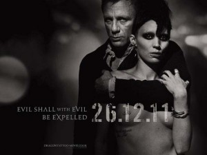 Daniel Craig and Noomi Rapace in the new Girl With The Dragon Tattoo